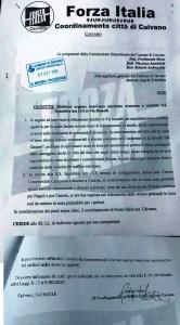 Forza Italia denuncia via Rosselli