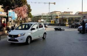 incidente corso Umberto I Caivano