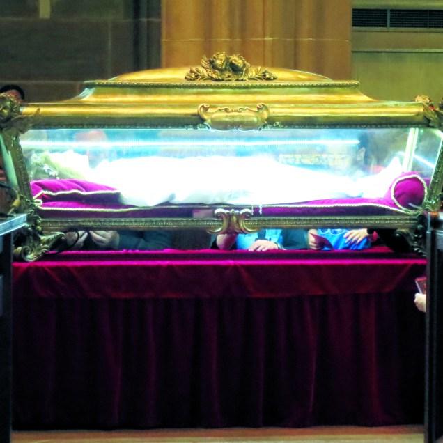 Major Relics of St. Maria Goretti in St. Joseph Cathedral (Columbus, Ohio)