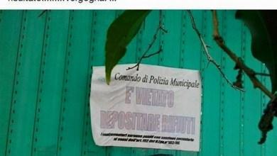 """Photo of Tolleranza zero anti """"zozzoni"""""""