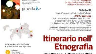 Photo of Procida, è il momento dell'itinerario dell'etnografia