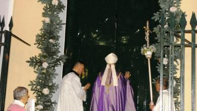"""Photo of Aperta in cattedrale la """"Porta Sancta"""" della Misericordia"""