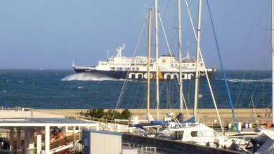 Photo of Vento e mare in tempesta, viaggiano solo pochi traghetti