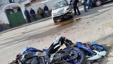 Photo of Incidente a Forio: impatto tra auto e moto, feriti in due