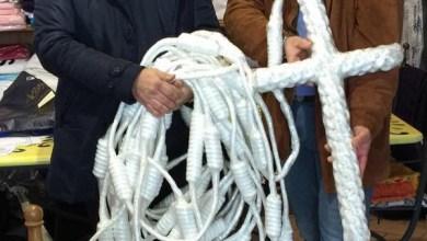 Photo of Un rosario di 18 kg e 30 m da Ischia a Buenos Aires