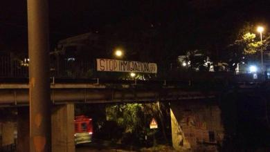 "Photo of ""Stop immigrazione"", striscioni di protesta a Ischia"