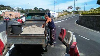 Photo of Cede l'asfalto, allarme all'ingresso della Sopraelevata