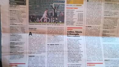 Photo of Inno del quotidiano sportivo nazionale al 39enne giocatore baranese che milita nel Bari in Serie B