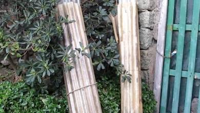 Photo of Via Janno Piro, togliete quei rotoli di eternit!