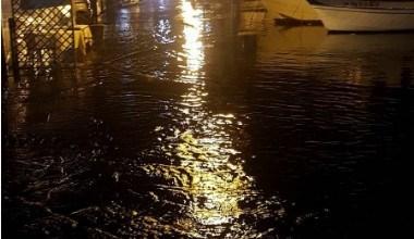 Photo of Acqua alta sulla Riva Destra, ci risiamo