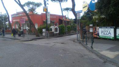 Photo of Piazza degli Eroi, via le fioriere dal palco