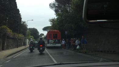 Photo of Bus in panne, che figuraccia con i turisti