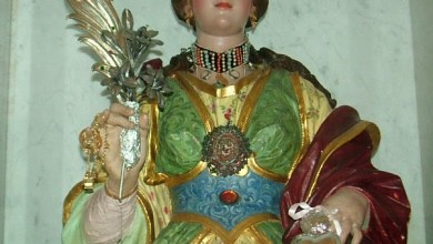 """Photo of Lacco, furto sacrilego: """"derubata"""" la statua di Santa Restituta"""