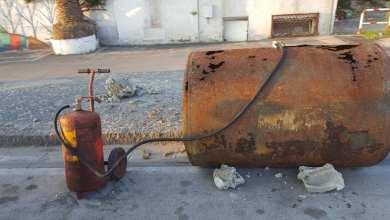 Photo of Forio, serbatoio abbandonato davanti al Municipio
