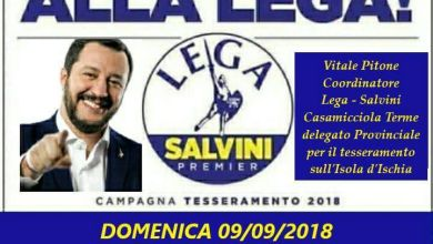 Photo of Lega e Salvini, l'avventura isolana parte da Casamicciola