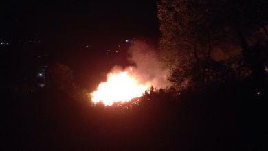 Photo of Fiamme al Vatoliere, paura per alcune case: sul posto vigili del fuoco e CC