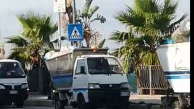 Photo of Forio, i camion dell'immondizia in bella mostra alla Chiaia