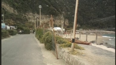 Photo of Citara, transenna pericolante pronta a cascare sui turisti