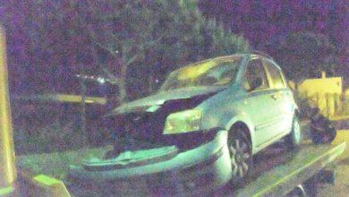Photo of Auto contro un muro, spettacolare incidente a Panza