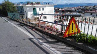Photo of LA FOTONOTIZIA Ringhiera divelta, al via i lavori sulla Superstrada