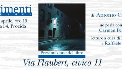 """Photo of """"Via Flaubert, civico 11"""" ecco il nuovo libro di Antonio Carannante"""