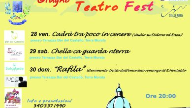Photo of L'EVENTO Procida Teatro Fest, ecco il programma