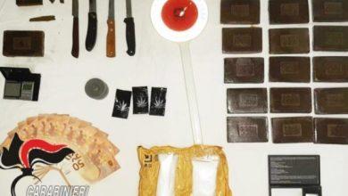 Photo of Arrestati con un chilo e mezzo di hashish,     il Gip concede i domiciliari