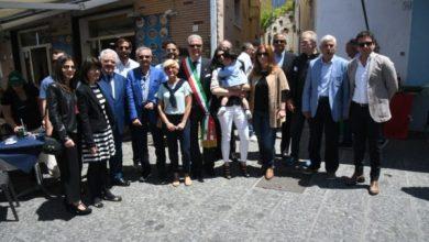 Photo of LA FOTONOTIZIA Forio, vico San Gaetano intitolato a Michele Colella