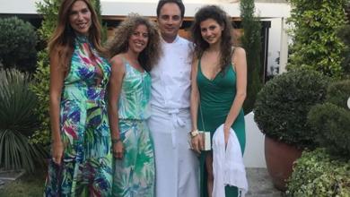 Photo of Veronica Maya a cena con le amiche da Nino Di Costanzo