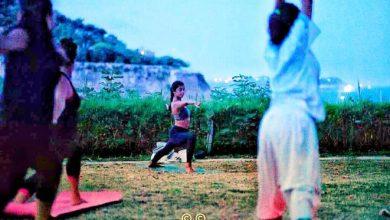 Photo of Yoga e baratti al tramonto alla torre Guevara