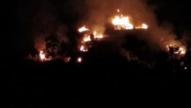 Photo of Monte Vezzi in fiamme, è iniziata la stagione degli incendi