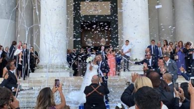 Photo of Angelo Pisani e Alessandra Cioffi sposi. Nozze da favola nel golfo di Napoli