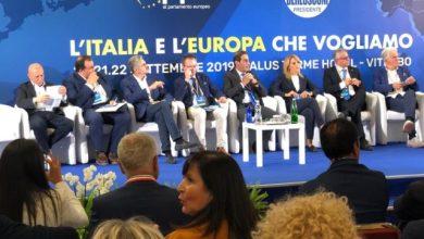 """Photo of Viterbo e il summit di Forza Italia, tra i sindaci """"riflettori"""" sul sisma"""