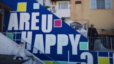 "Photo of Ischia Street Art Gallery, non si ferma il progetto ""Are U Happy"""