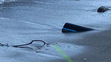 Photo of MALTEMPO   Il mare restituisce schiuma marrone e rifiuti alla Mandra