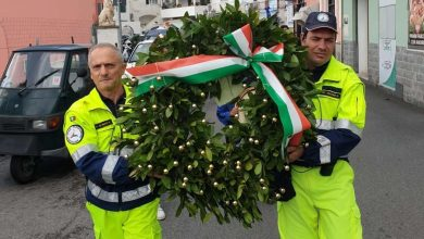 Photo of Forio commemora i caduti in guerra e gli agenti Rotta e Demenego