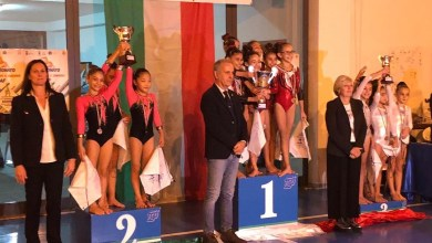Photo of Ginnastica, C.G. Ischia vice campione interregionale