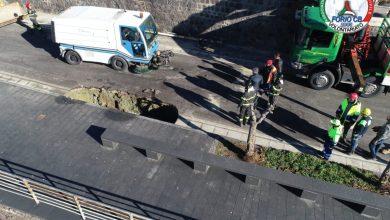 Photo of Cedimento in via Mazzella, il Comune corre ai ripari