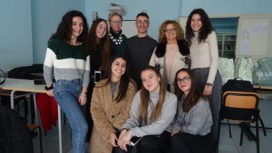 Photo of Ischia colonia artistica con gli studenti del liceo linguistico