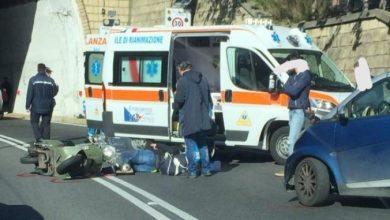 Photo of Ancora paura sulla Superstrada, centauro ferito in un incidente