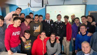 """Photo of Sicurezza e dipendenze, i carabinieri incontrano gli studenti del """"C. Mennella"""""""