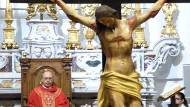 Photo of Si entra nel vivo della settimana Santa con i riti della passione contro il diavolo del Coronavirus che ha rovinato la Pasqua a tutti