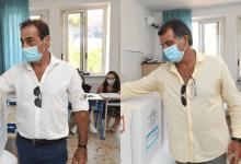 """Photo of De Siano e Pascale al voto nella """"controra"""", clima tranquillo a Lacco"""