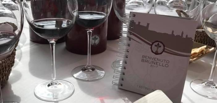 Il mio Benvenuto Brunello 2017 con tanti vini davvero buoni