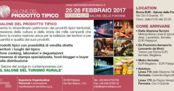 Salone del prodotto tipico a Roma