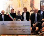 Le Manzane dona alla onlus di Sammy Basso un assegno di 16 mila euro, da parte mia, tanti complimenti