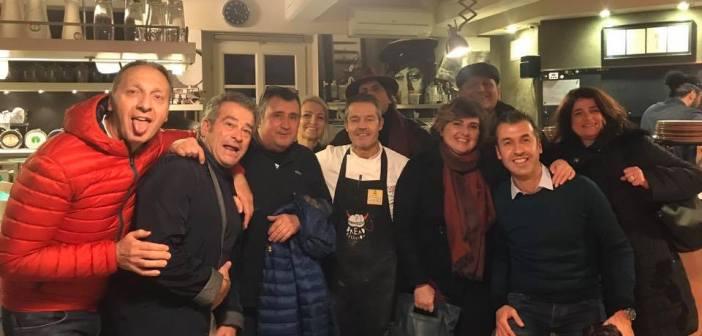 Una volta l'anno alla pizzeria Apogeo a Pietrasanta (Lu), per restarci con la voglia per un anno intero