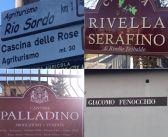 Quattro visite in un giorno? Si può! Eccole, Cascina delle Rose, Teobaldo Rivella, Palladino e Giacomo Fenocchio