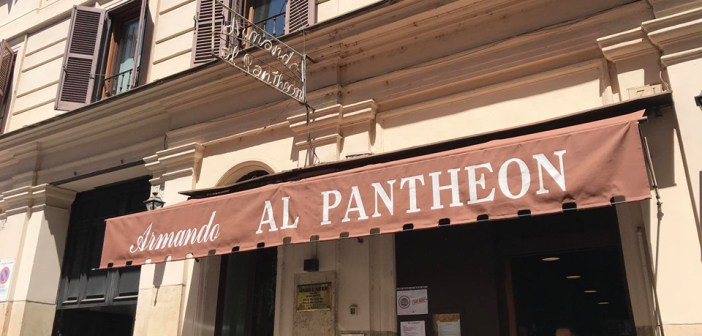 Armando al Pantheon – Roma, dopo l'ottantena… ripartire da qui