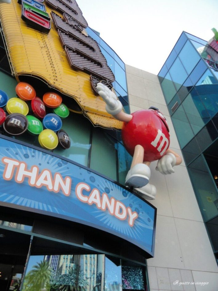 m&m world las vegas strip